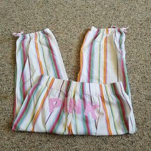 PINK Victoria's Secret Vintage Pajama Pajama Capri